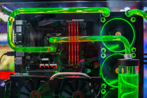 Water liquid cooling PC case