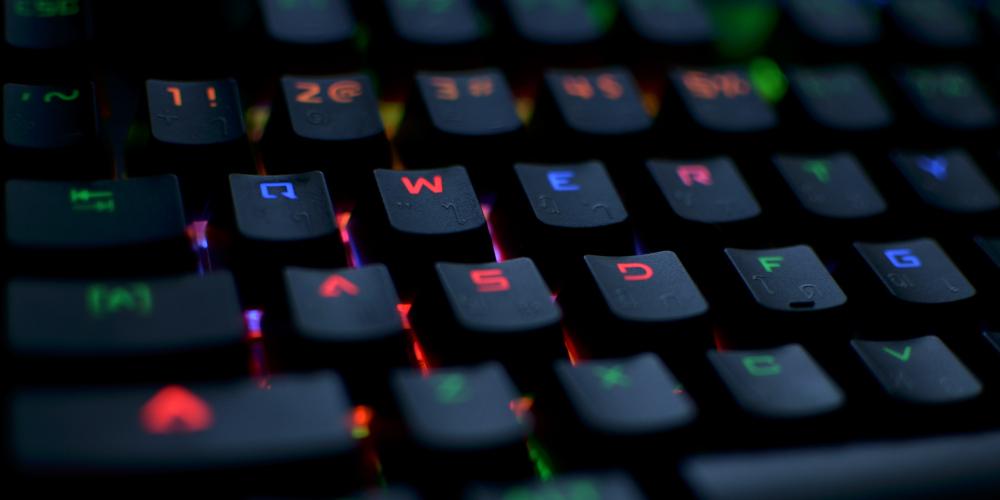 RGB Mechanical Keyboard WASD